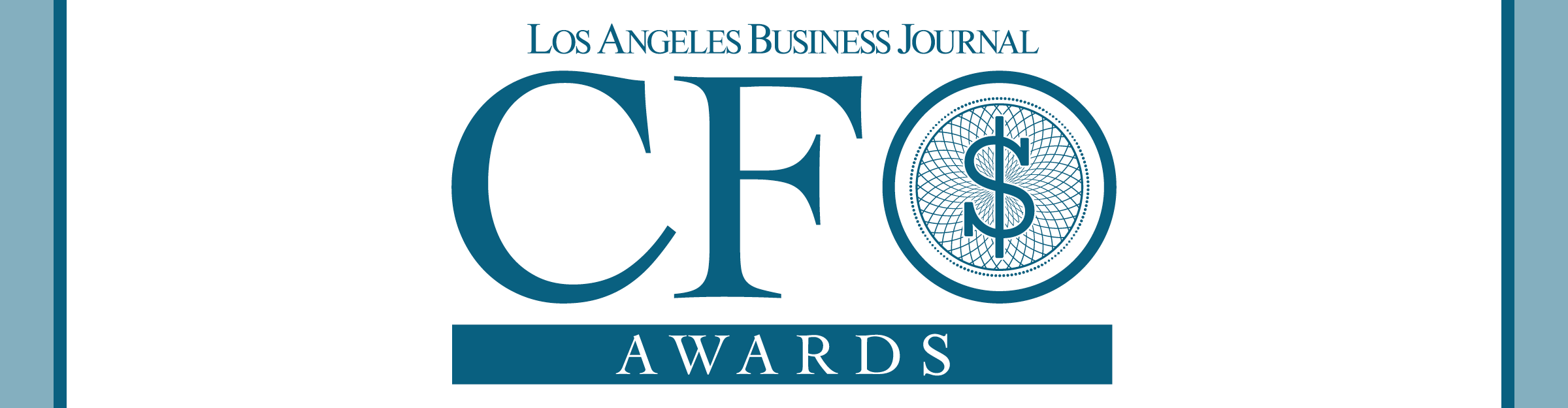 Los Angeles Business Journal CFO Awards Event Banner