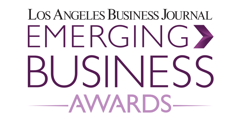 Los Angeles Business Journal Emerging Business Awards Logo