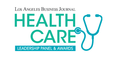 Los Angeles Business Journal Health Care Leadership Panel and Awards Logo