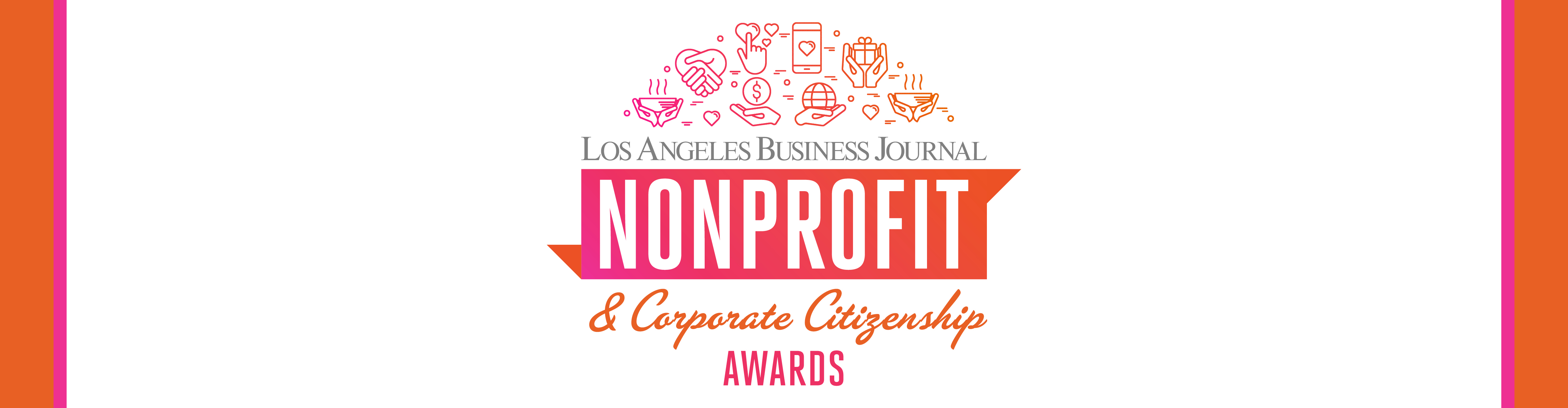 Los Angeles Business Journal Nonprofit & Corporate Citizenship Awards Event Banner