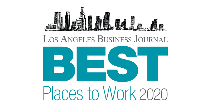 Los Angeles Business Journal Best Places to Work Logo