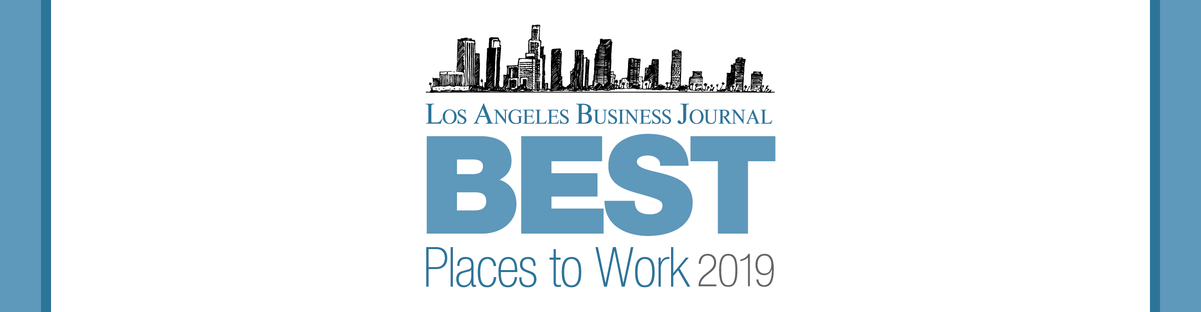 Los Angeles Business Journal Best Places to Work Awards Event Banner