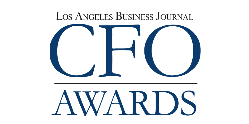 Los Angeles Business Journal CFO Awards Logo