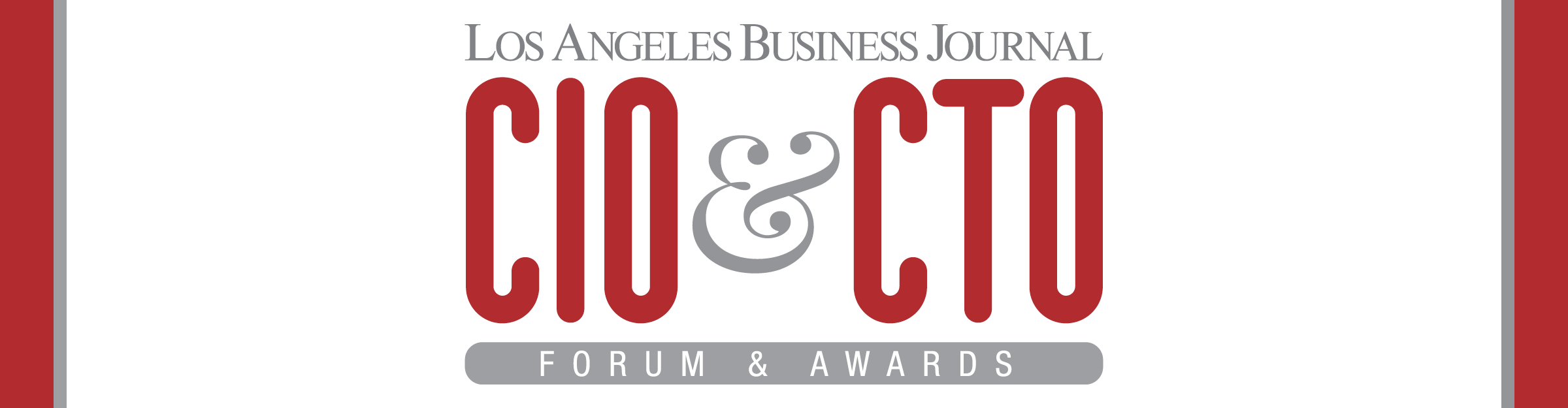 Los Angeles Business Journal NAME OF EVENT Awards Event Banner