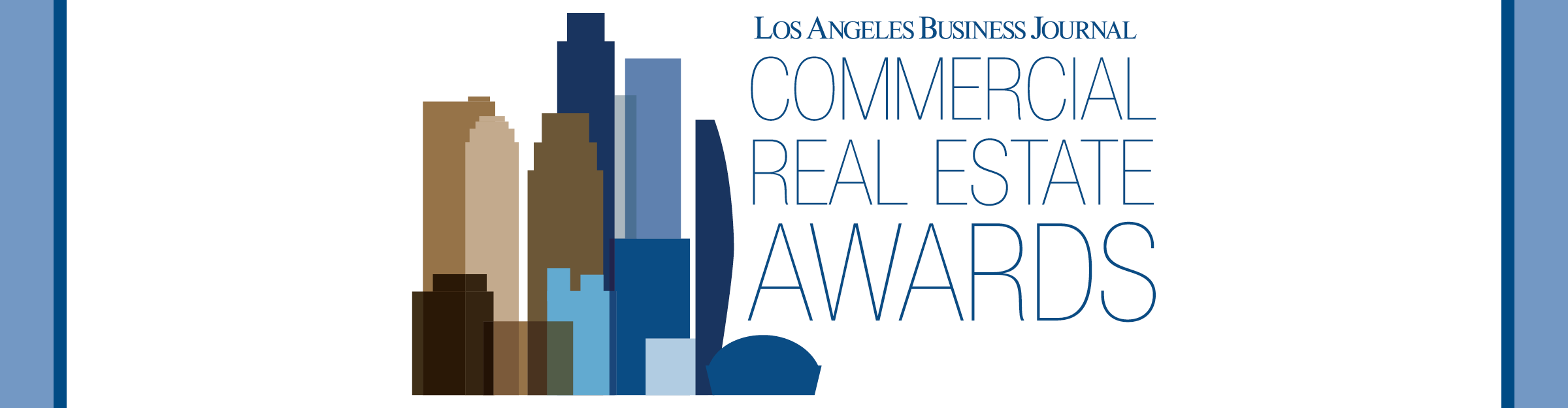 Los Angeles Business Journal Commercial Real Estate Awards Event Banner