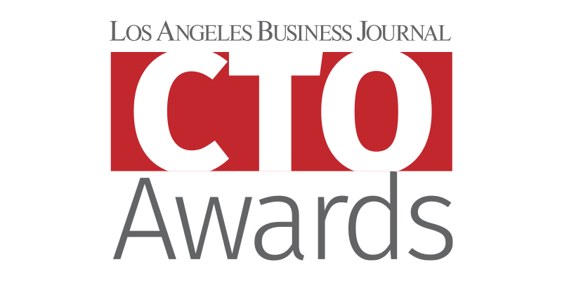 Los Angeles Business Journal CTO Awards Logo