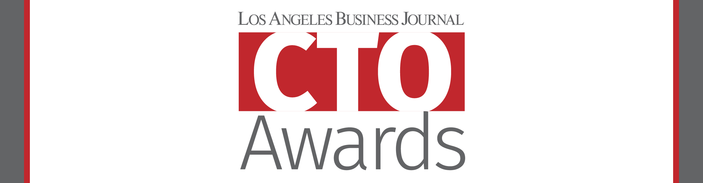 Los Angeles Business Journal CTO Event Banner