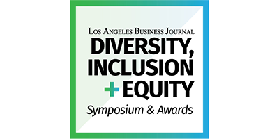 Los Angeles Business Journal Diversity, Inclusion + Equity Logo
