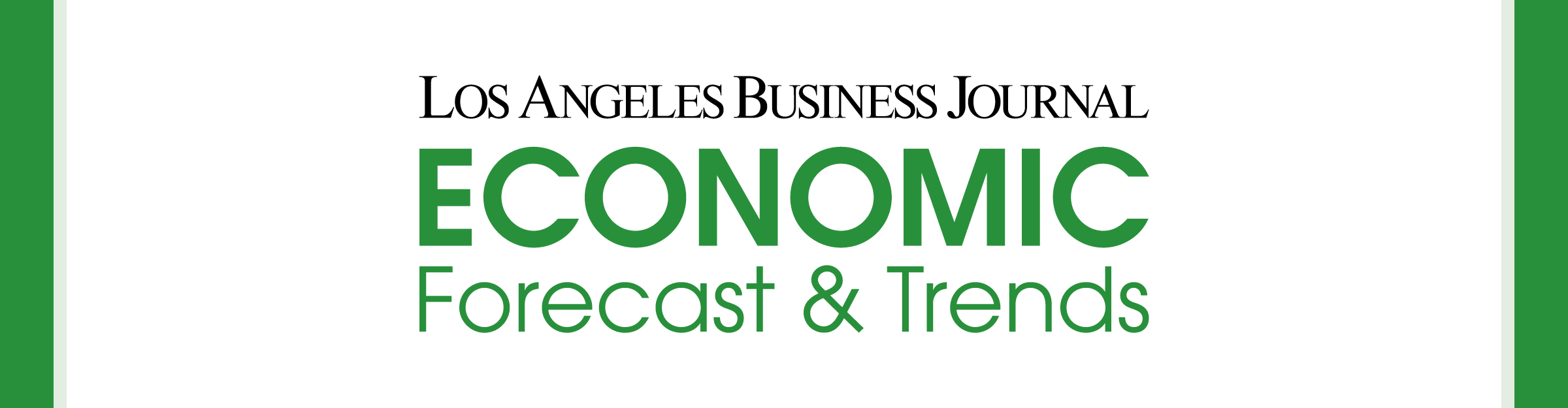 Los Angeles Business Journal Economic Forecast and Trends Event Banner