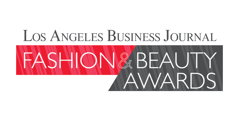 Los Angeles Business Journal Fashion and Beauty Awards Logo
