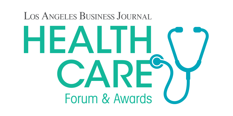 Los Angeles Business Journal Health Care Fourm and Awards Logo