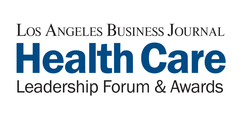 Los Angeles Business Journal Health Care Leadership Fourm and Awards Logo
