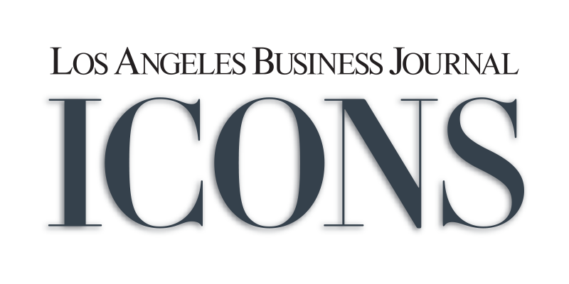 Los Angeles Business Journal ICONS Logo