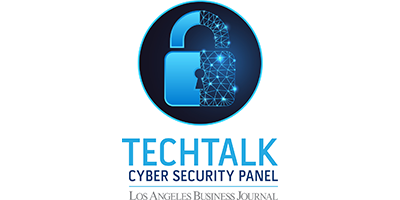 Los Angeles Business Journal TechTalk Cyber Security Logo