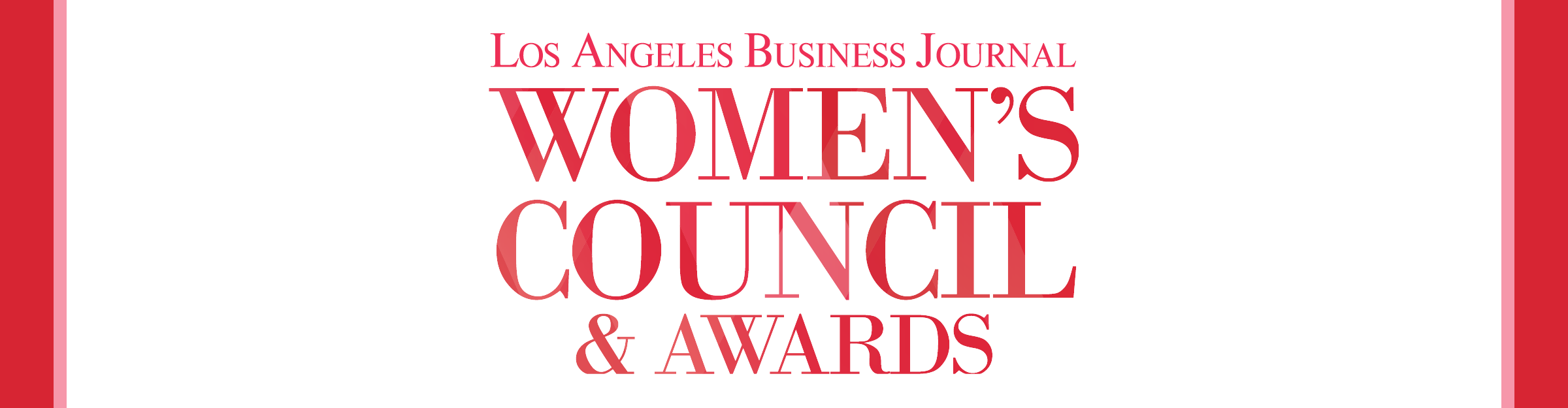 Women's Council & Awards Awards Awards Event Banner