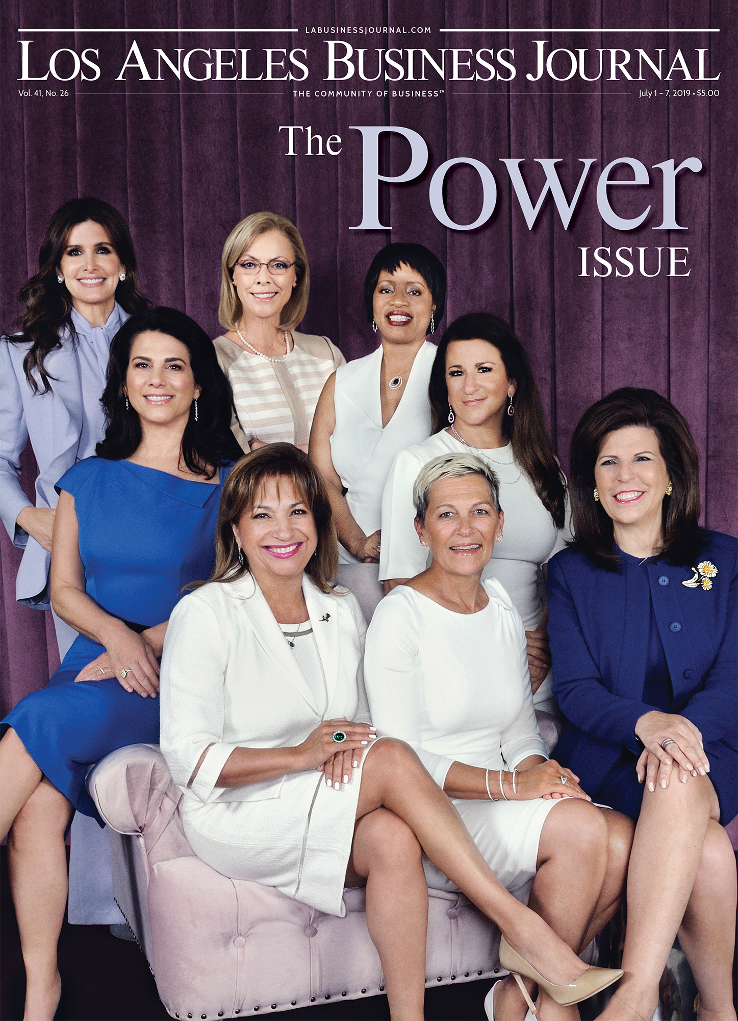 Los Angeles Business Journal The Power Issue