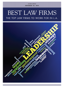 Best Law Firms To Work For In L A Los Angeles Business Journal