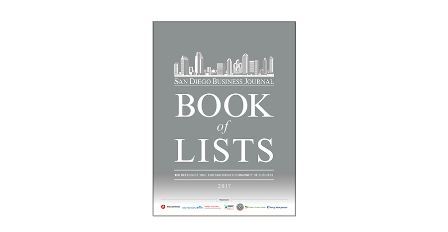Gsa business journal book of lists